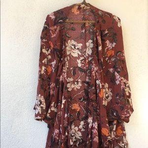 Jackets & Blazers - NEW VINTAGE UNWORN Japanese floral print cape